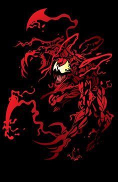 Mega-carnage by wccomics on DeviantArt Marvel Universe, Marvel E Dc, Marvel Venom, Marvel Villains, Marvel Comics Art, Marvel Characters, Marvel Heroes, Venom Comics, Carnage Symbiote