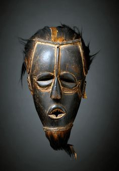 Africa | Mask from the Ivory Coast | © musée du quai Branly