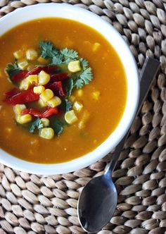Warm Up With a High-Protein Crockpot Soup Santa-Fe Style Vegetable Soup