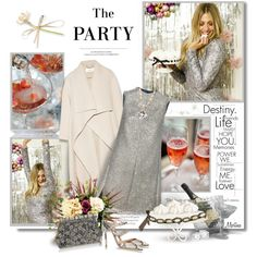 The Party by thewondersoffashion on Polyvore featuring moda, Yves Saint Laurent, Chloé, Gianvito Rossi, Dolce&Gabbana, Katherine Jetter, Crate and Barrel, H&M, PATH and Louis Vuitton