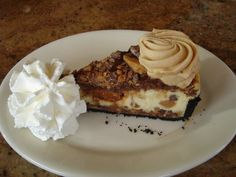 Cheesecake Factory adams peanut butter cheesecake
