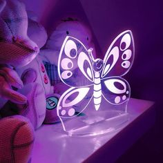 Butterfly Color-Changing LED Night-Light