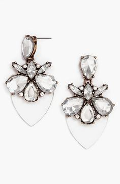BaubleBar 'Persimmon' Drop Earrings available at #Nordstrom