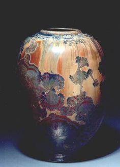Crystalline Vase - Gordon Hutchens, Pottery