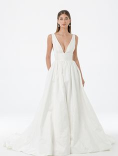 Looking for your perfect wedding dress? Check out Amaline by Amaline Vitale. It is our Ready To Wear collection featuring stunning dresses made of luxe fabric. Perfect Wedding Dress, Skirts With Pockets, Stunning Dresses, Formal Dresses, Wedding Dresses, A Line Skirts, Dress Making, Ready To Wear, Wedding Inspiration