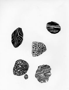 Stone Study, 2010 by Caitlin Foster