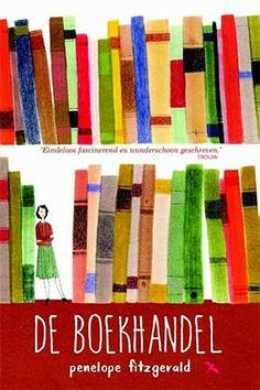 • Penelope Fitzgerald De boekhandel Uitgeverij Karmijn, april 2015 - heeft Florence voldoende wilskracht en doorzettingsvermogen om haar boekhandel open te houden? (shortlisted for the Booker Prize 1978 - nu eindelijk in NL-vertaling) - [lees meer]  -  [kijk bij bol.com]