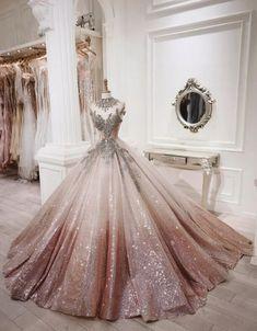 Pretty Quinceanera Dresses, Gold Prom Dresses, Pretty Prom Dresses, Ball Gown Dresses, 15 Dresses, Fashion Dresses, Evening Dresses, Party Dresses, Formal Dresses