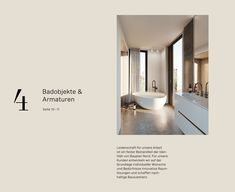"""The new color scheme is cozy and inviting, complimented by the typography – a combination of Antiqua """"FS Brabo"""" and Grotesque """"Spezia"""". Each individual Bauplan Nord project is given its own unique corporate design, adapted to representing the object's history and location. The idea of sustainability is reflected in the project Alte Rabenstrasse 3 in the use of the numbers we developed ..."""