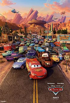 High resolution official theatrical movie poster ( of for Cars Image dimensions: 1100 x Starring Owen Wilson, Paul Newman, Bonnie Hunt, Larry the Cable Guy Disney Pixar Cars, Disney Movies, Walt Disney, Disney Wiki, Poster Cars, Auto Poster, Movie Posters, Disney Posters, Disney Quotes