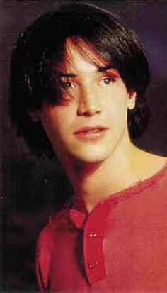 Young Keanu Reeves in Red Shir... is listed (or ranked) 7 on the list 25 Pictures of Young Keanu Reeves