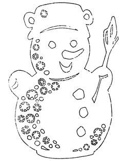 Vánoční vystřihovánky zdarma k vytisknutí | i-creative.cz - Inspirace, návody a nápady pro rodiče, učitele a pro všechny, kteří rádi tvoří.