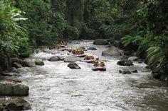 White water rafting on Ayung river #Bali