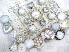 Bit of Bling Sewing Buttons by nickelnotions