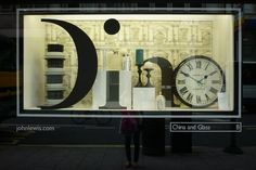 John Lewis spell it out windows visual merchandising