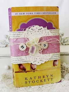 Love the idea of dressing up a book to pass along to someone and share