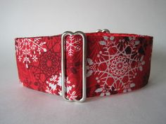 1.5 Martingale Collars Christmas Martingale by HuggableHound, $19.99