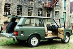 love old range rovers