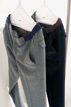 Men Trousers, Work Trousers, Knit Pants, Men's Pants, Tailored Fashion, New Pant, Mens Trends, Outdoor Wear, Mens Sweatshirts