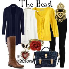 Beast outfit from Beauty & the Beast :)