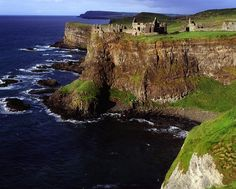 Dunluce Castle, Co. Antrim, Ireland by The Irish Image Collection ...