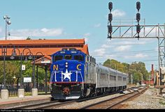 RailPictures.Net Photo: NC 1859 North Carolina Department of Transportation EMD F59PH at Salisbury, North Carolina by Mike Pierry, Jr.