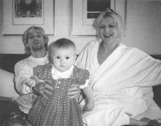 Courtney is my wife, and a lot of people could not accept the fact that I'm in love, and that I could be happy. Because she's such a powerful person, and such a threatening person, every sexist within the industry just joined forces and decided to string us up. -Kurt Cobain