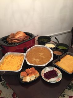 All this food #givingthanks