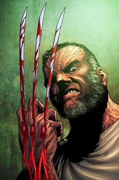 Old Man Wolverine comic  Just finished reading this and I HIGHLY recommend it to anyone who enjoys comics.