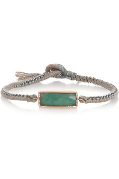 Brooke Gregson� �Sterling silver chalcedony bracel