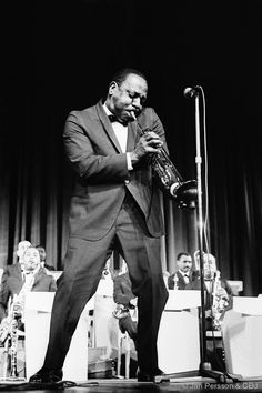 Cootie Williams, another of the talented musicians that passed through the Ellington Band.