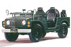 Suzuki's off road heritage began in 1970 when they launched the LJ series lightweight 4 x 4.