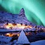"9,630 Likes, 113 Comments - LOFOTEN (@lofoten) on Instagram: ""Doble trouble, @Lofoten Who would you watch the northern lights with? #lofoten photo by…"""