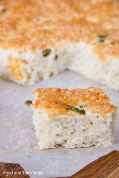 #cheese #jalapeno #bread #leipä