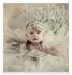Ivory Beige and Tan Shabby Chic FeatherPad Accent with soft flower and Rhinestones Headband Photography Prop