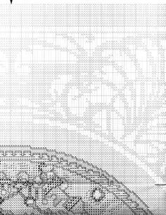 Borduurpatroon Kruissteek Mucha *Embroidery Cross Stitch Pattern ~Byzantine Heads: BRUNETTE (1897) 6/18~