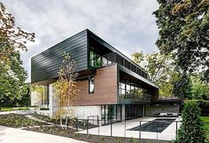 Architektur: Wisconsin Modern Riverfront