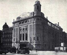 ARQUITECTURA TRAS IIGM - ESPAÑA -ARQ. DE LA DICTADURA -  Luis Gutiérrez Soto, Cine Callao, 1926