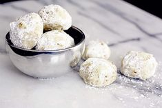 CARDAMOM & ROSE WATER MEXICAN WEDDING COOKIES