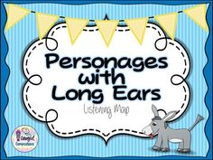 Personages with Long Ears Animated Listening Map