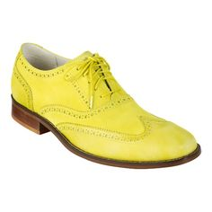 #colehawn air colton casual wingtip.. so sick #neonyellow  i might get them for the summer!