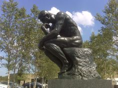 "Rodin's ""The Thinker"": I've loved this piece all of my life. I think it's one of the most beautiful depictions of the human form; equally capturing the physiological, intellectual, emotional and spiritual essence of a human being. Auguste Rodin was an absolute genius."