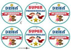 Medal z okazji Dnia Przedszkolaka - Printoteka.pl Kids And Parenting, Diy And Crafts, Manicure, Education, Speech Language Therapy, Boy's Day, Nail Bar, Nails, Polish