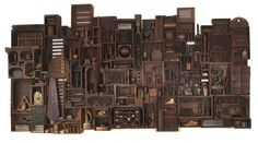 "Saatchi Online Artist: Paul Clowney; Wood, 2000, Installation ""Treen Between"""