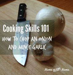 Cooking Skills 101: