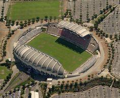 "Béziers rugby stadium - Béziers has been 11 times ""Champion de France"""