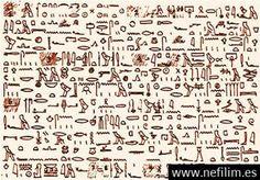 Avistamientos OVNI: El papiro Tulli
