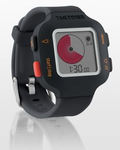 TIME TIMER Watch Plus Black Small Size Visual Management Tool ADHD Autism