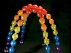 diy prom decorations ideas | Do It Yourself Balloon Arches, Columns, Architecture, Birthday Party ...