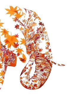 Bildergebnis für autumn color elephants
